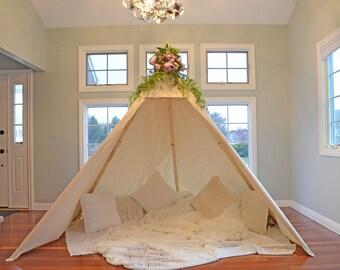 TEEPEE ADULT; adult teepee; adult tepee; boho tent; wedding teepee; wedding backdrop; boho teepee; beautiful teepee; boho tepee