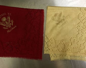 Mother's Vintage Hankies Imperfectly Perfect!