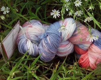 Lanartus fine Merino Socks 6-hand dyed