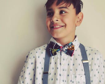 Hand made Kids Bow Tie - Star Wars theme