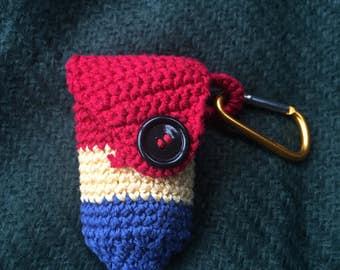 Coin/car key pouch