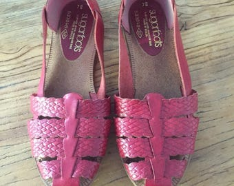 Vintage Huaraches Sandals Size 7