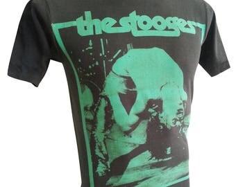 THE STOOGES Rock T-SHIRT black R-031