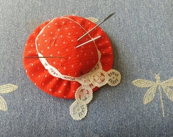 Vintage Hand Made Pincushion