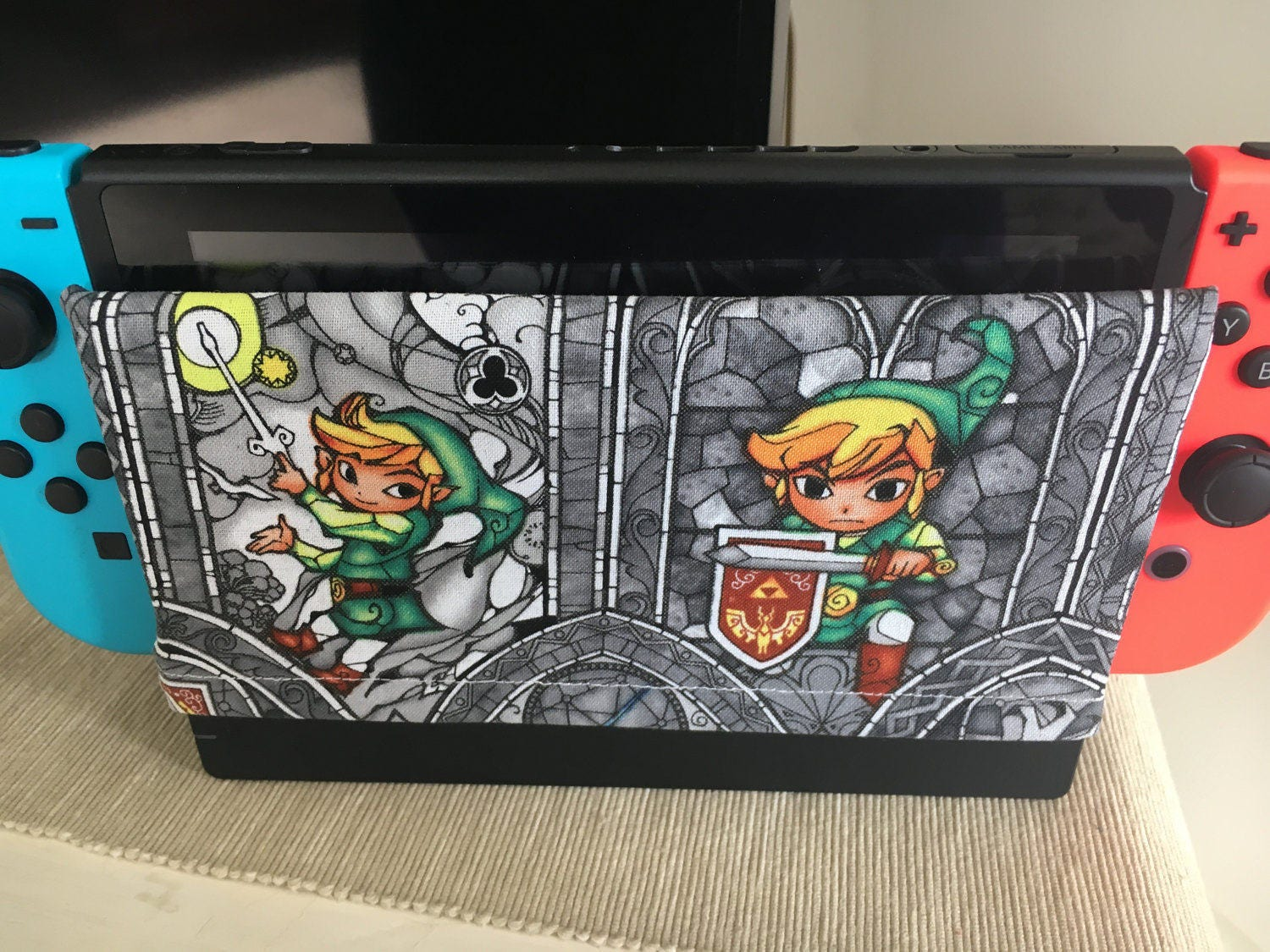 Legend of zelda nintendo switch dock cover dock sock for Housse zelda nintendo switch