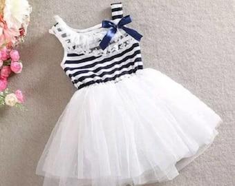 Sailor inspired dress