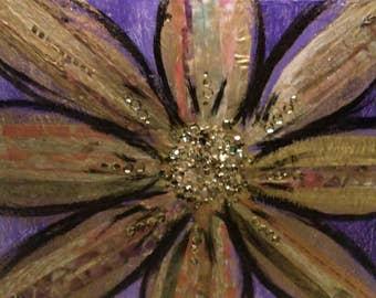 Trio Flower Painting