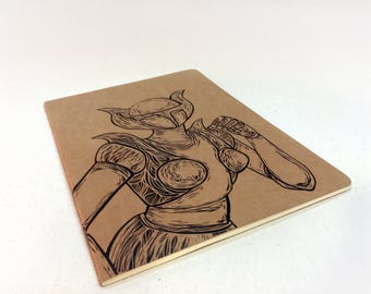 Artisan Notebook 32 page book