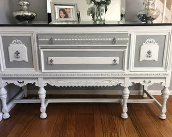 Antique buffet, reburbished