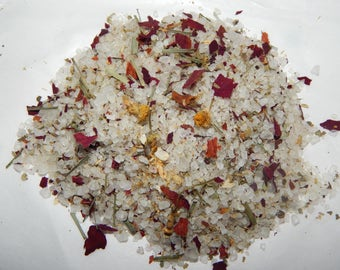 Chill out! Bath salts- Hoodoo, Conjure, rootwork, Witchcraft, Bath salts