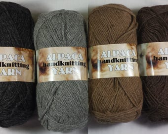 Alpaca Yarn - DK - Alpaca/Merino Wool Blend