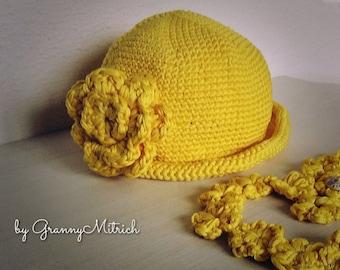 Шляпка для девочки/Hat for girls