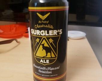 Captain Boomerang Beer Label