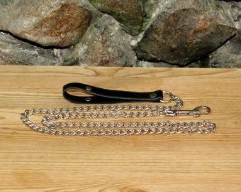 ADULT - Black Chain Lead