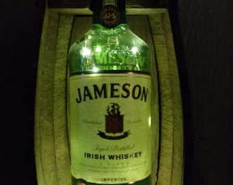 Jameson Liquor Lamp