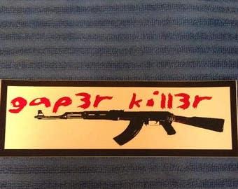 GK Sticker Large