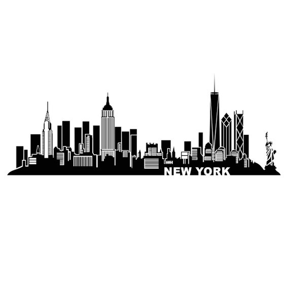 New York City Amrica Bridge Graphics Svg Dxf Eps Png Cdr Ai