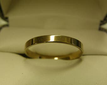 Costume Gold Plated Ring  - Size 11