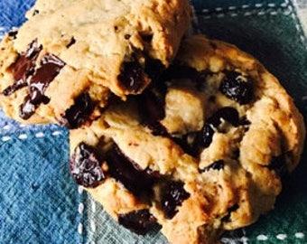 Cherry Chocolate Chunk Jumbo Cookies 6 Count