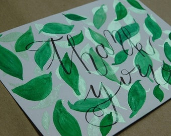 Original handmade greeting card