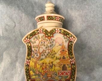 Sadler China tea jar