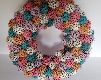 Sweet gum ball wreath