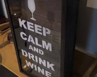 Box (grey) wine stopper
