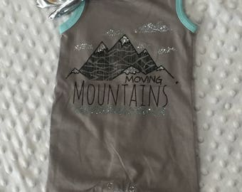 Moving Mountains Romper