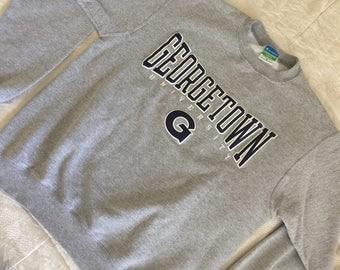 Champion® Eco Fleece Georgetown University Gray Sweatshirt