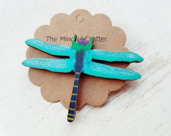 Dragonfly brooch  dragonfly jewellery. Dragonfly badge  Bright coloured Dragon fly jewellery accessory. Dragonflies. Insect jewellery