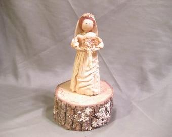 Corn Husk Bride Doll Wedding