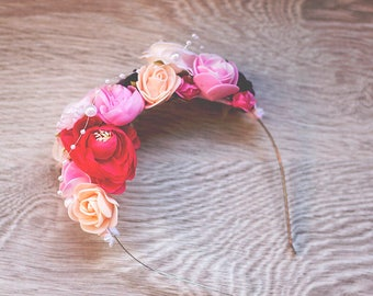 Flower Headband - Kids Headband - Women's Headband - Adult Headband - Children's Headband - Headband