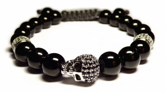 shamballa bracelet skull