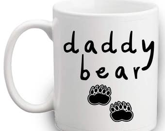 Daddy Bear Mug - Dad Gifts - Fathers Special Gift