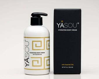 YASOU  8 oz hydrating body cream with essential oils