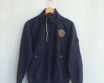 Eddie Bauer Halfzip Snap Button Embroidery Jacket