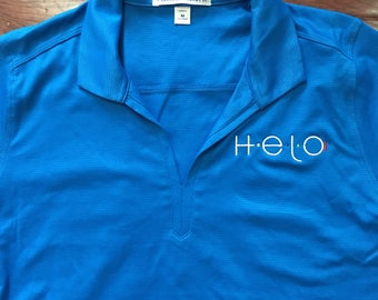 Women's Helo Embroidered Polo