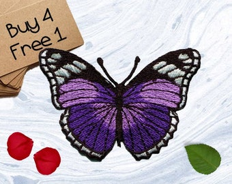 Colorful Butterfly Patches Romance Patches Embroidered Patch Iron On Appliques