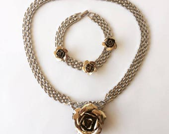 Mary Rose Bracelet & Necklace