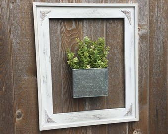 Distressed Open Frame