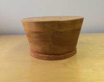 Hat block, puzzle block, crown block, top hat, millinery, hat making, Mad Hatter