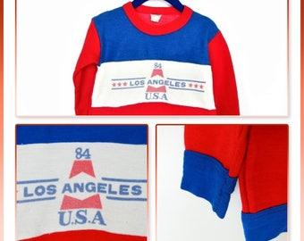 Toddler Sweatshirt / Baby Sweatshirt / Kids Clothing / Vintage Clothing/ 4 years/ 104cm/ 80s