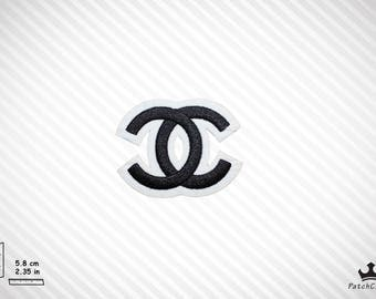 Black-White Embroidered Special Designer Fashion Iron On Patch/Emblem High Quality