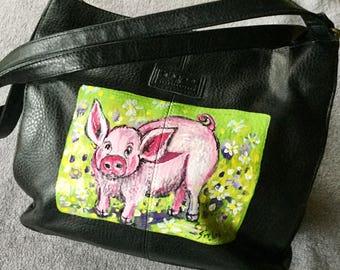 Wilbur the Pig Purse