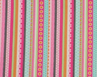 Girly O Saurus 'stripes' from Marcus Fabrics Fat Quarter