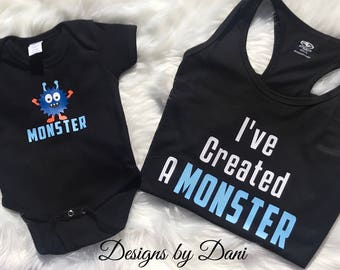 I've Created A Monster | Mommy & Me