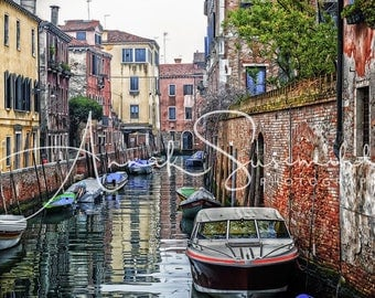 Venice - colorful impressions - unique wall decorations for every room!