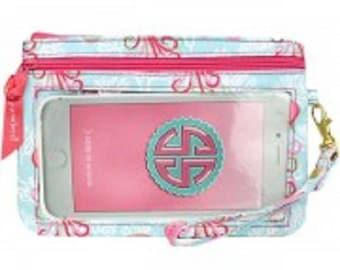 Simply Southern Jellyfish Phone Wristlet Purse Wallet
