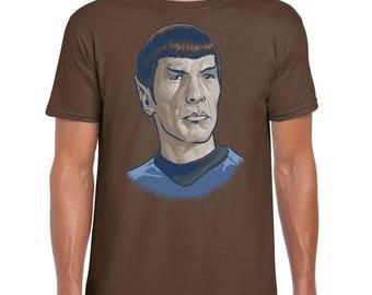 Spock - T-Shirt SciFi Tee | Star Trek | Captain Kirk | Spock | Enterprise