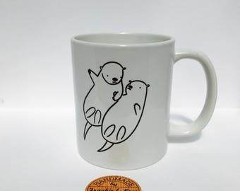 Otters mate for life mug